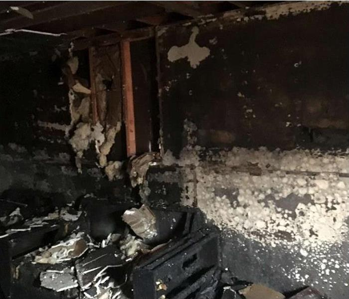 Fire damage restoration in North Branford CT