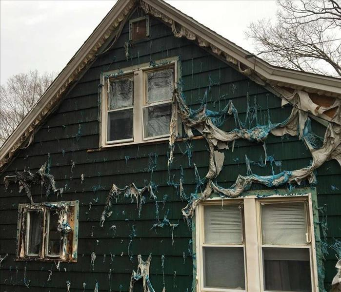 Fire Damage Restoration in North Branford, CT