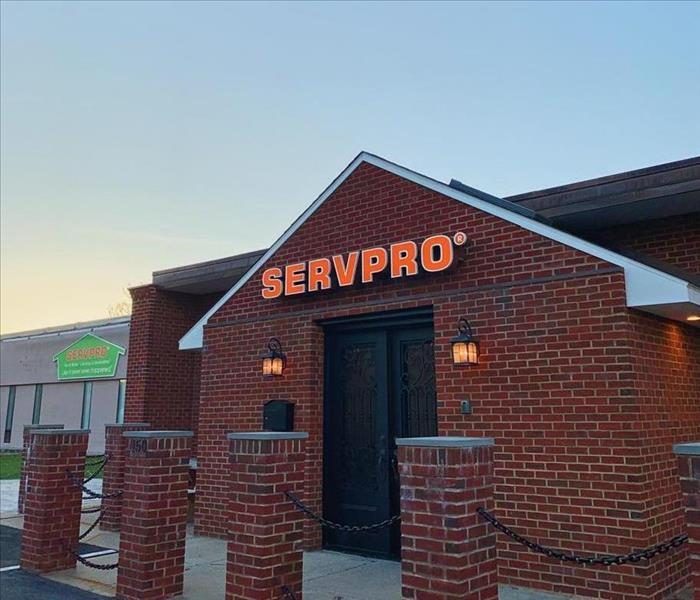 Photo of servpro of branford building main entrance.
